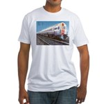 Amtrak Budd Metroliners Fitted T-Shirt