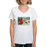 Mischief Witch Women's V-Neck T-Shirt