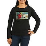 Mischief Witch Women's Long Sleeve Dark T-Shirt