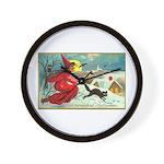 Mischief Witch Wall Clock