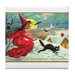 Mischief Witch Tile Coaster