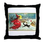 Mischief Witch Throw Pillow