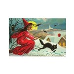 Mischief Witch Rectangle Magnet (100 pack)