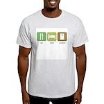 Eat Sleep Cornhole Light T-Shirt