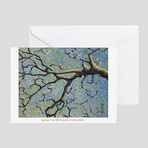 Spring Tree Greeting Card