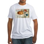 Thanksgiving Pie Fitted T-Shirt