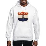 Obama / Biden JFK '60 Shield Hooded Sweatshirt
