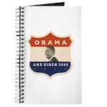 Obama / Biden JFK '60 Shield Journal
