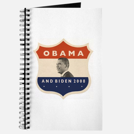 Obama / Biden JFK '60 Shield Journal