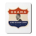 Obama / Biden JFK '60 Shield Mousepad