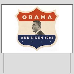 Obama / Biden JFK '60 Shield Yard Sign