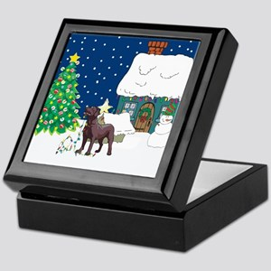 Christmas Lights Lab Keepsake Box