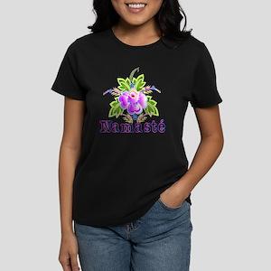 Namaste Bouquet Women's Dark T-Shirt