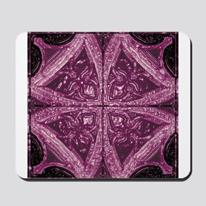 Abstract 8 (Violet) Mousepad