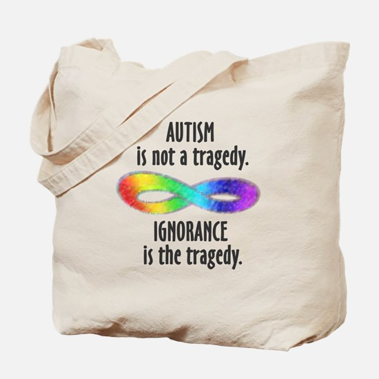 Not a Tragedy Tote Bag