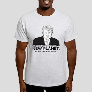 Donald Trump New Planet Light T-Shirt