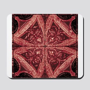 Abstract 8 (Red) Mousepad