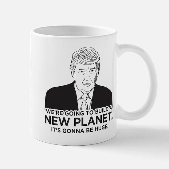 Donald Trump New Planet Mug