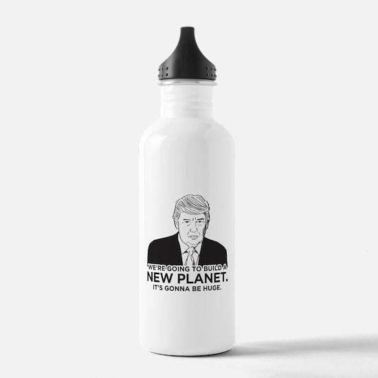 Donald Trump New Plane Water Bottle