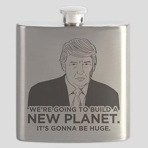 Donald Trump New Planet Flask