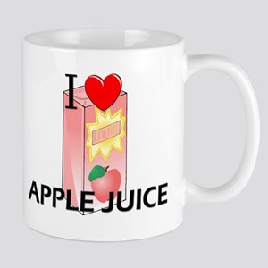 I Love Apple Juice Mug
