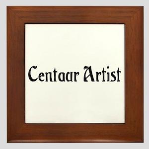 Centaur Artist Framed Tile