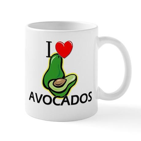 I Love Avocados Mug