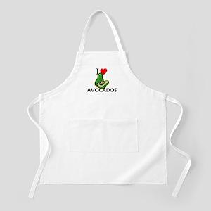 I Love Avocados BBQ Apron