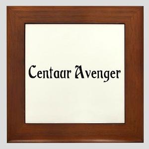Centaur Avenger Framed Tile