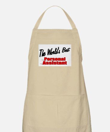 """The World's Best Personal Assistant"" BBQ Apron"