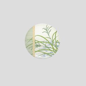 screen w/ grass and stream Mini Button