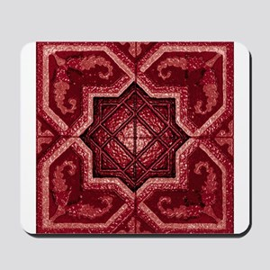 Abstract 7 (Red) Mousepad