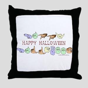 HalloweenCC Throw Pillow