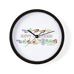 HalloweenCC Wall Clock