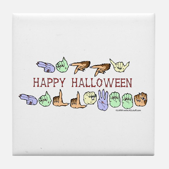 HalloweenCC Tile Coaster