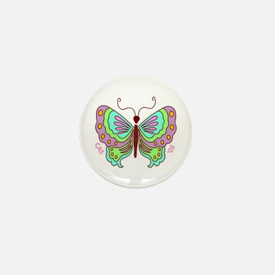 Butterfly Mini Button