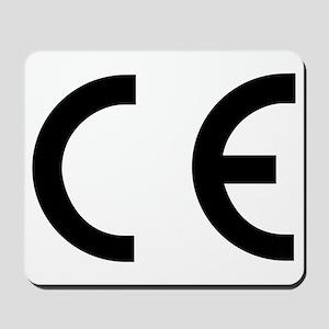 CE Mark Mousepad