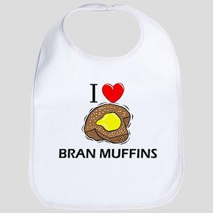 I Love Bran Muffins Bib