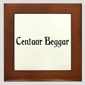 Centaur Beggar Framed Tile
