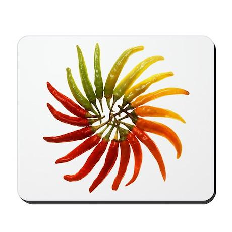 Chili Pepper Wheel Mousepad