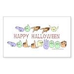 HalloweenCC Rectangle Sticker 50 pk)