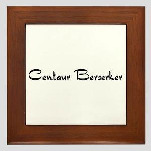 Centaur Berserker Framed Tile