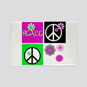 Peace for All Rectangle Magnet