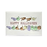 HalloweenCC Rectangle Magnet (100 pack)