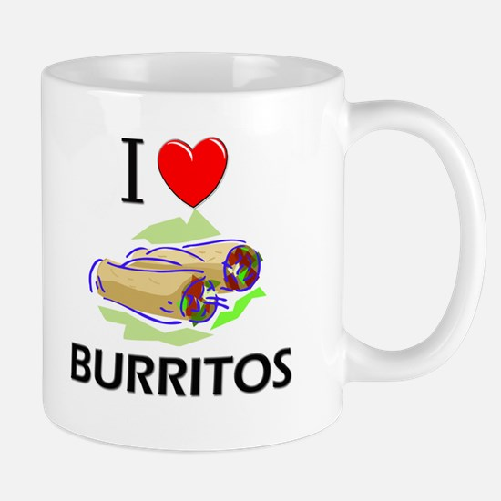 I Love Burritos Mug