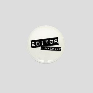 """""""Editor-in-Chief"""" Mini Button"""