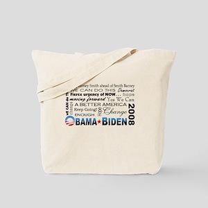 Obama Collage Tote Bag