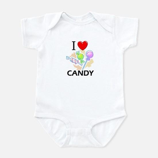 I Love Candy Infant Bodysuit