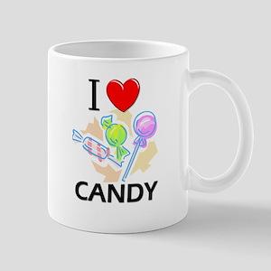 I Love Candy Mug