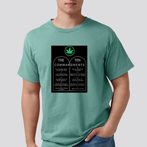 The Ten Commandments of Marijuana T-Shirt